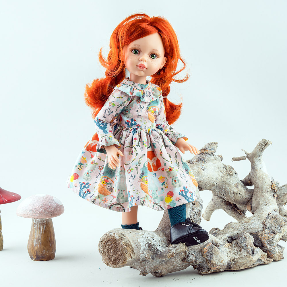 Кукла Кристи (шарнирная) Паола Рейна (в фабричном наряде), 34 см
