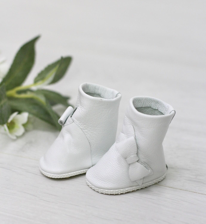 Сапоги белые для куклы Paola Reina 32-34 см