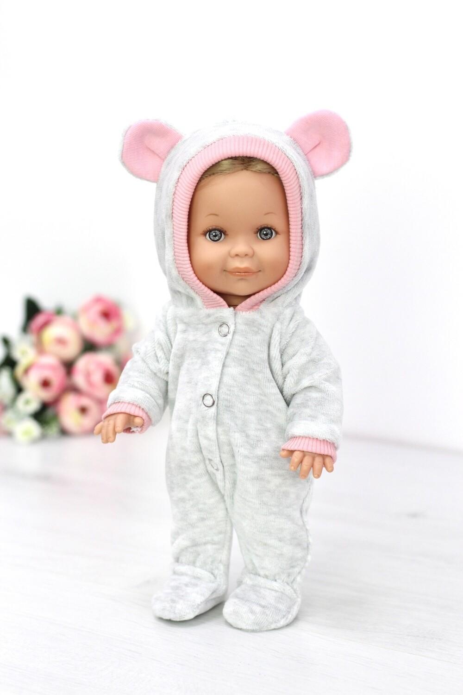 Кукла Бетти с ароматом карамели, в велюровом комбинезоне