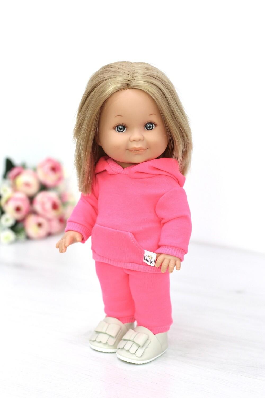 Кукла Бетти с ароматом карамели, в костюме неоново-розового цвета, 30 см, Lamagik Magic Baby