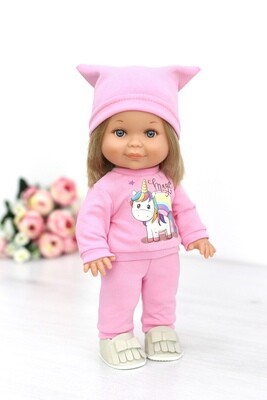 Кукла Бетти с ароматом карамели, в костюме с единорожкой, 30 см, Lamagik Magic Baby