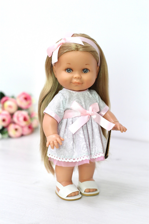 Кукла Бетти Рапунцель с ароматом карамели, 30 см (в нарядном платье) Lamagik Magic Baby