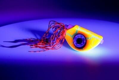 Beady Eye Kabura 100g Orange Crackled