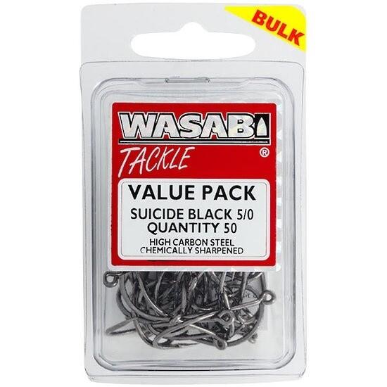 Suicide Black 5/0 Value Pack