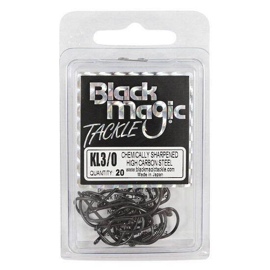 KL 3/0 Black Hooks Eco Pack