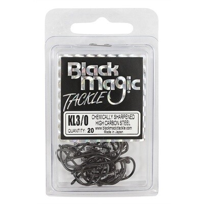 KL 3/0 Black Hooks Eco Pack
