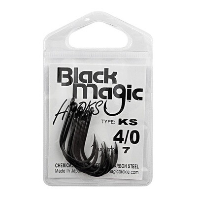 K/S 4/0 Black Hooks Small Pack