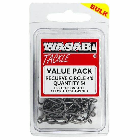 Recurve Circle 4/0 Value Pack