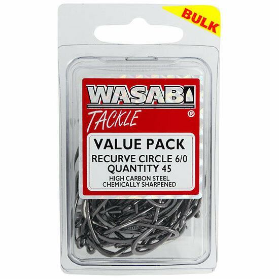 Recurve Circle 6/0 Value Pack