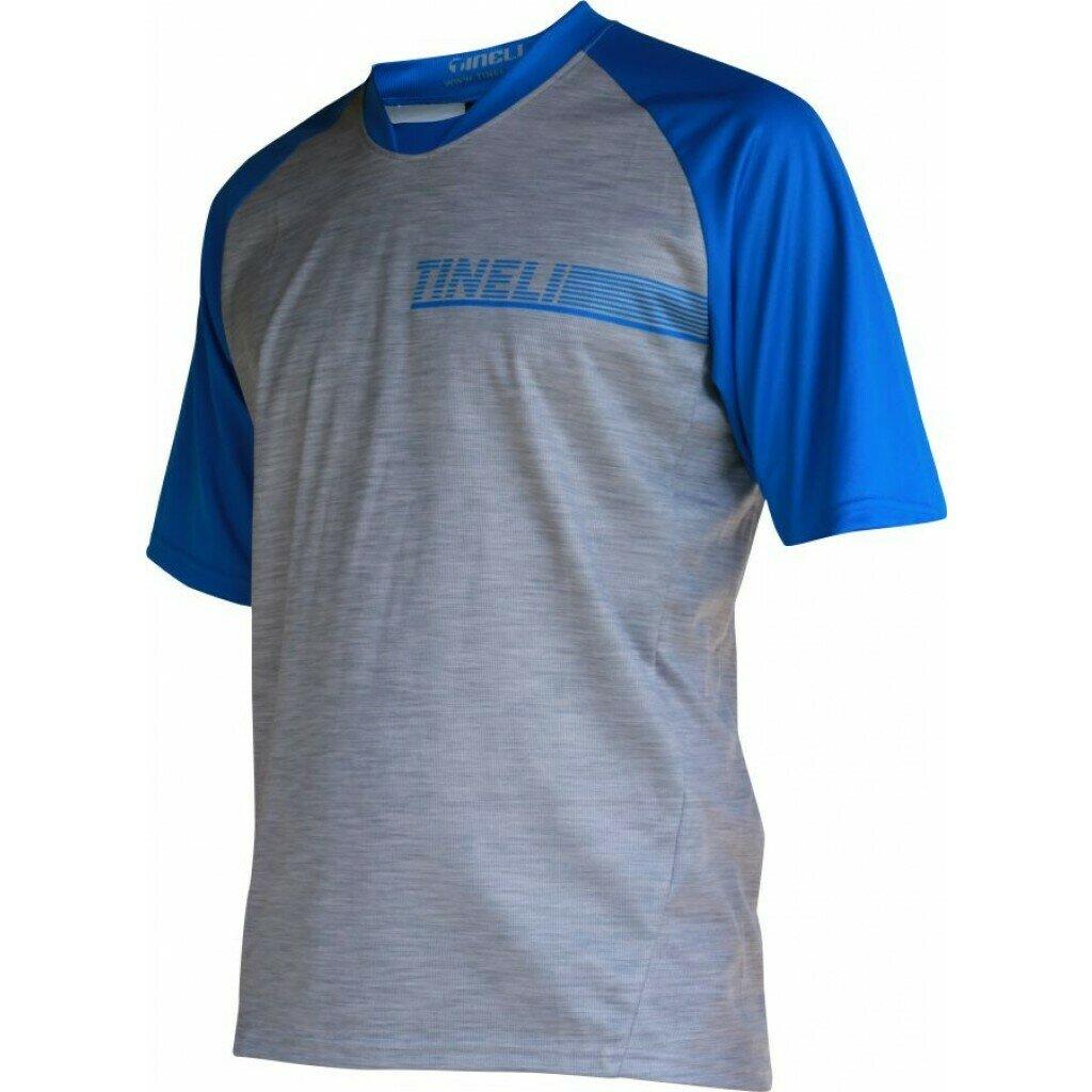 Men's Blue SS Trail Jersey