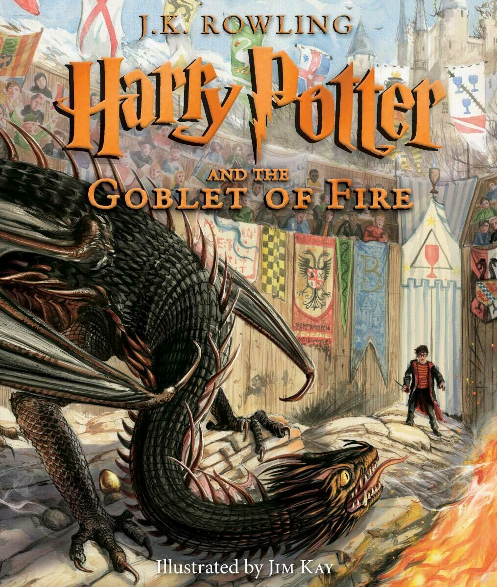 Illustrated Harry Potter and the Goblet of Fire