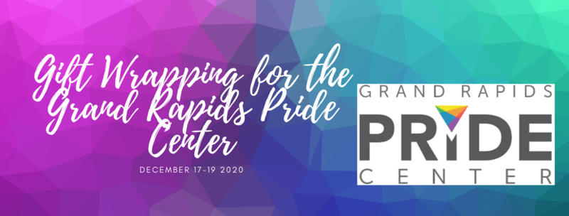 Gift Wrap to Benefit GR Pride Center