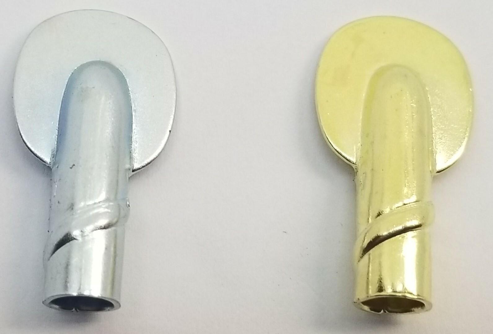 "dozen 1//2/"" 1//4/"" ZINC Spoon type shelf supports ribbed antique vintage rusti 12"