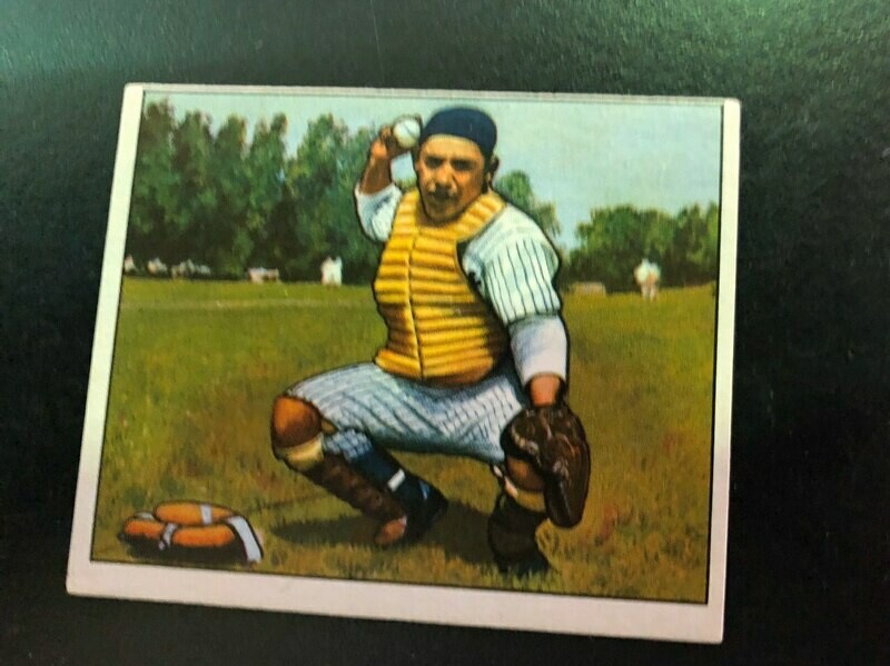 1950 Bowman #46 Yogi Berra, List $600, Sell $395