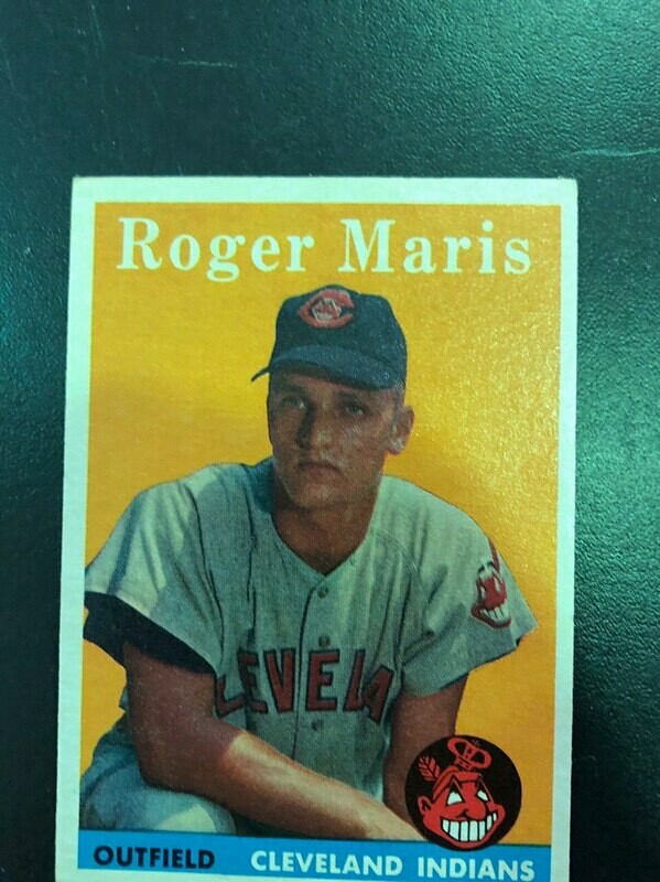 1958 Topps #47 Roger Maris rookie, List $500, Sell $395