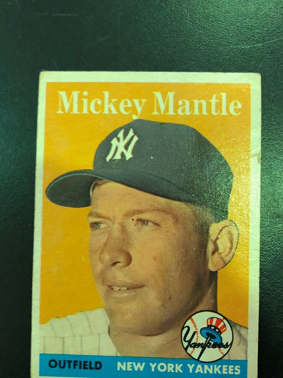 1958 Topps #150 Mickey Mantle, List $1000, Sell $395