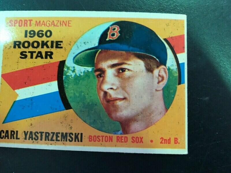 1960 Topps #148 Carl Yastrzemski rookie, List $400