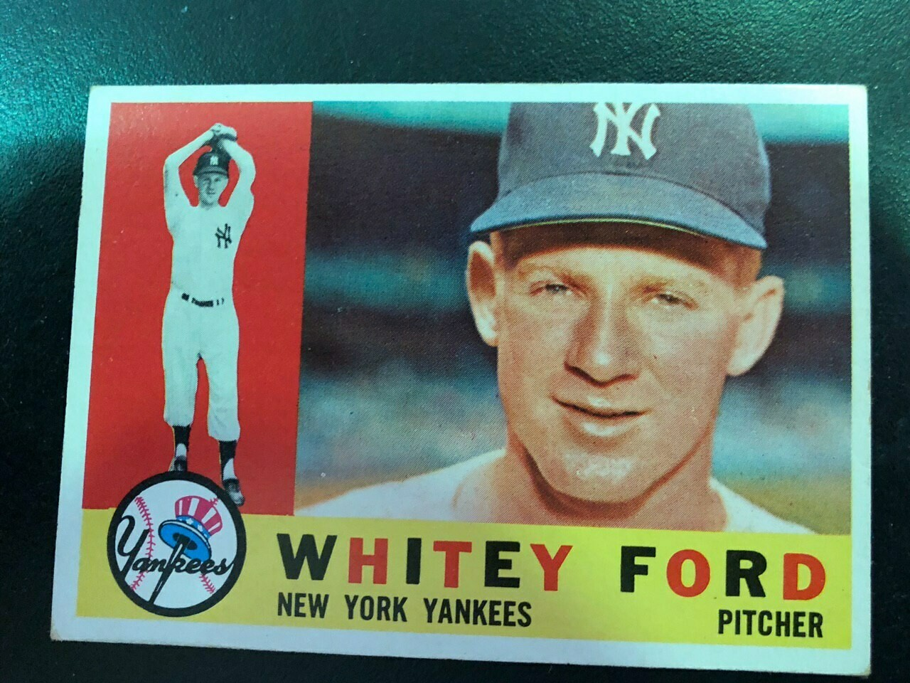 1960 Topps #35 Whitey Ford, List $80