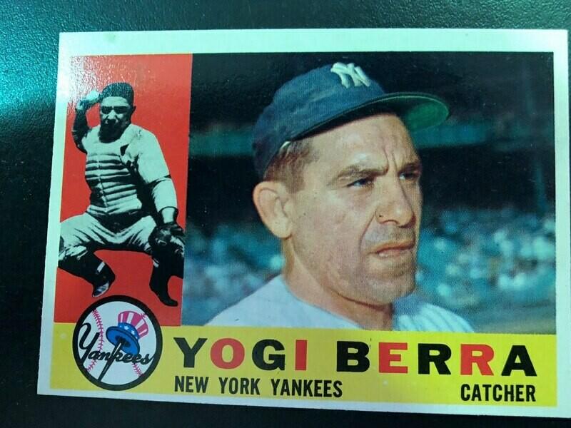 1960 Topps #480 Yogi Berra, List $120