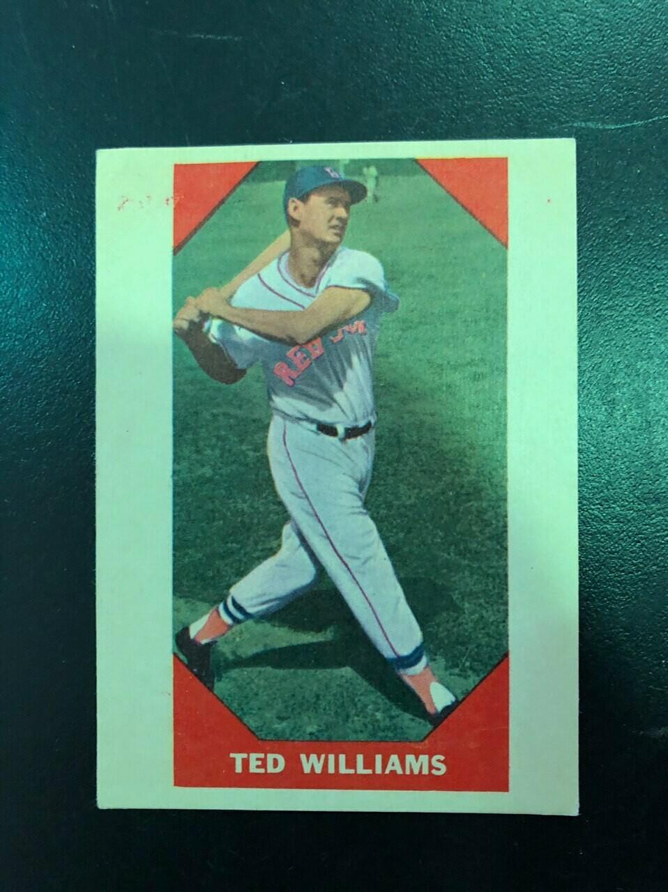 1960 Fleer #72 Ted Williams, List $80, Sell $70