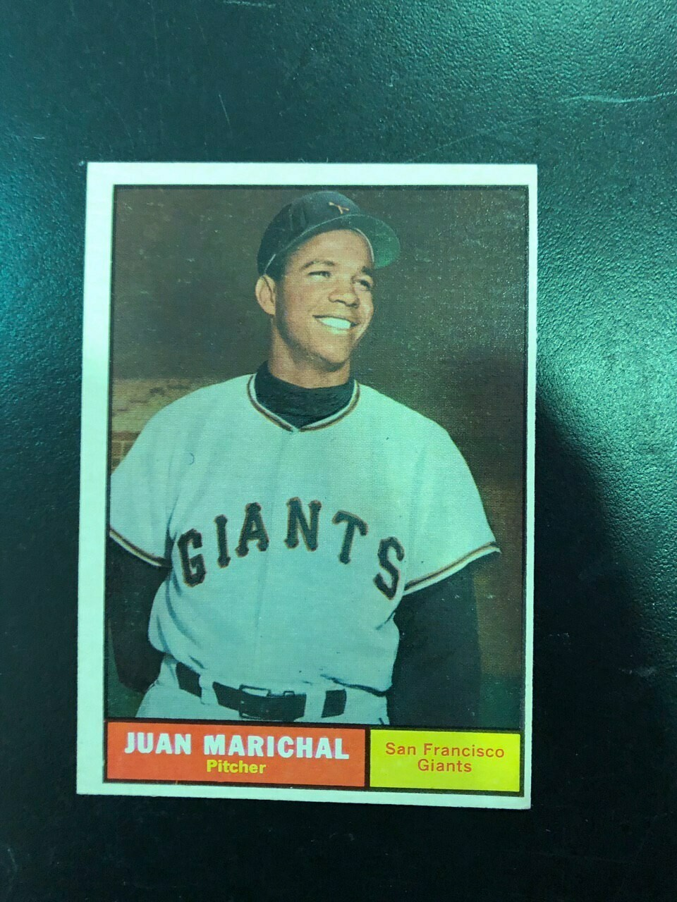 1961 Topps #417 Juan Marichal rookie, List $150, Sell $95