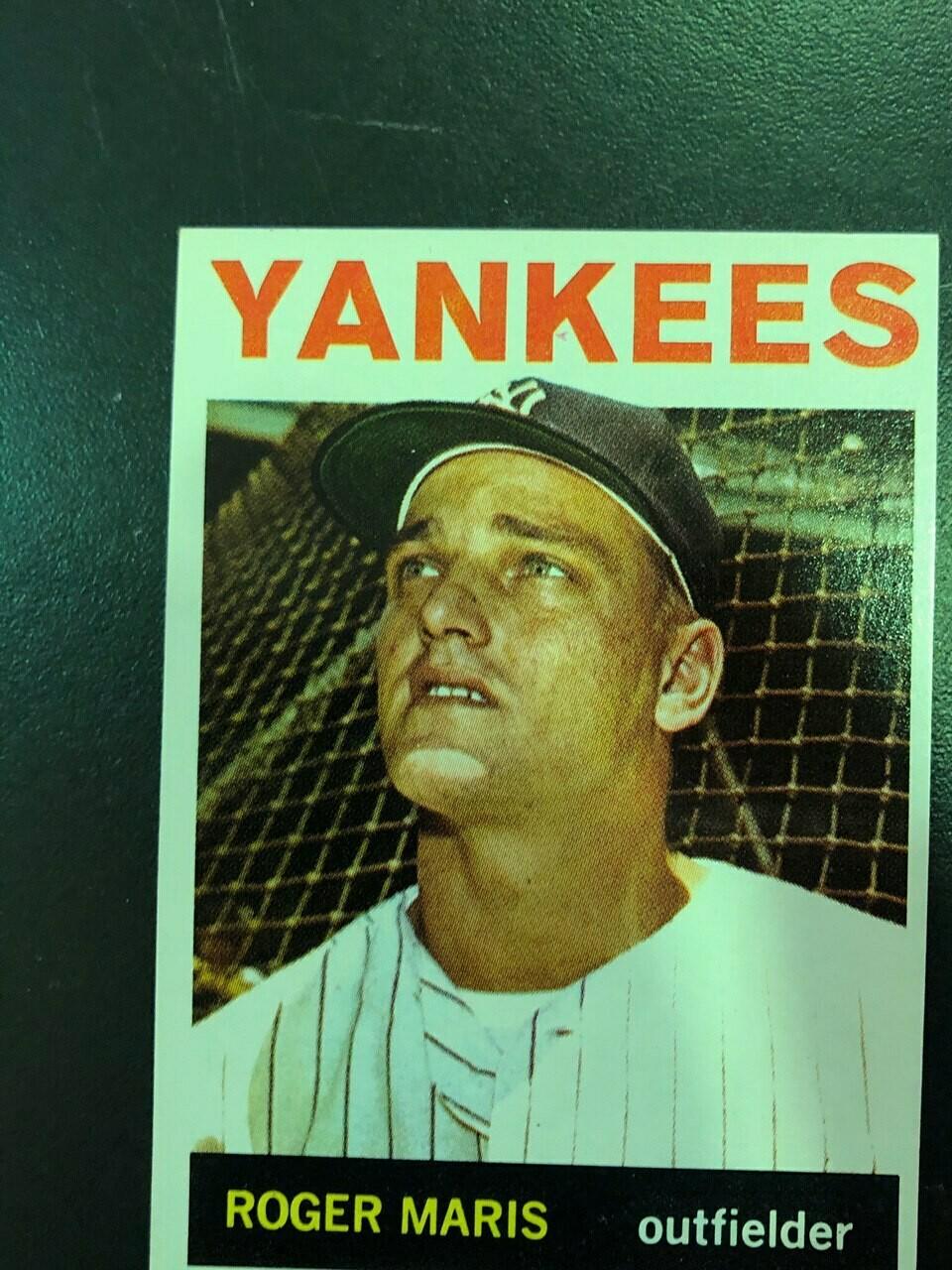 1964 Topps #225 Roger Maris, List $80, Sell $70
