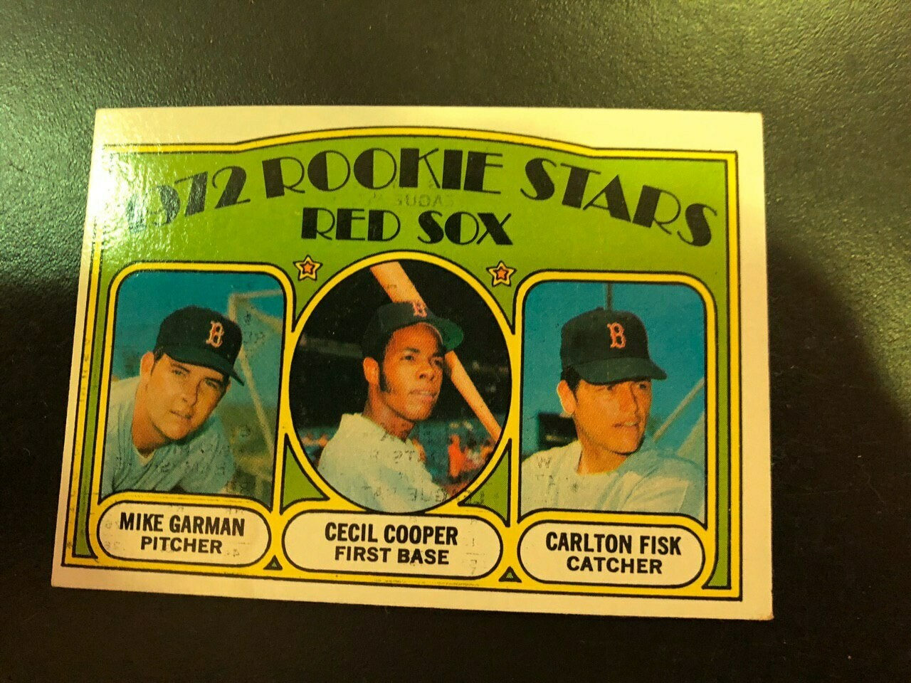 1972 Topps #79 Carlton Fisk rookie, List $60