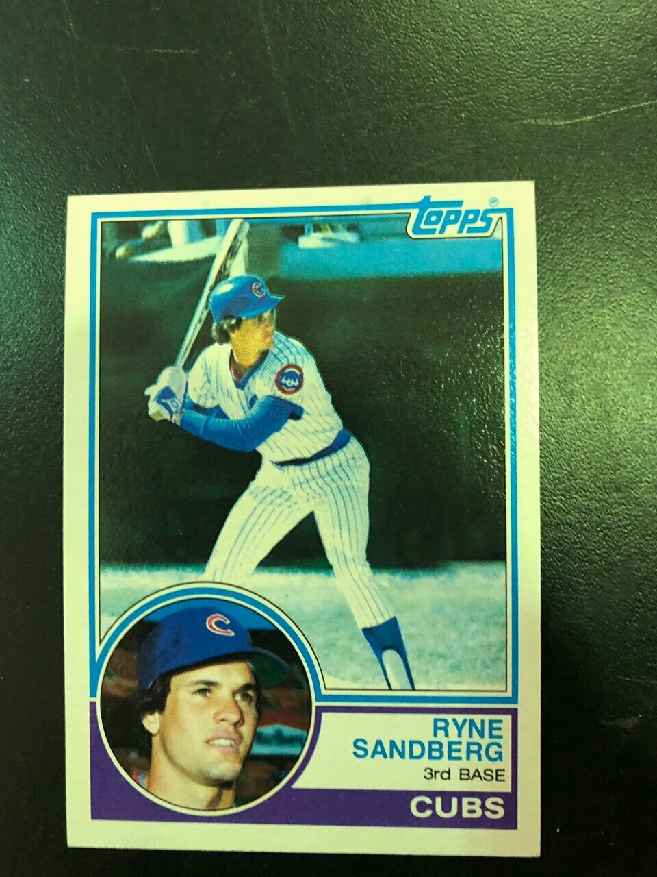 1983 Topps #83 Ryne Sandberg rookie