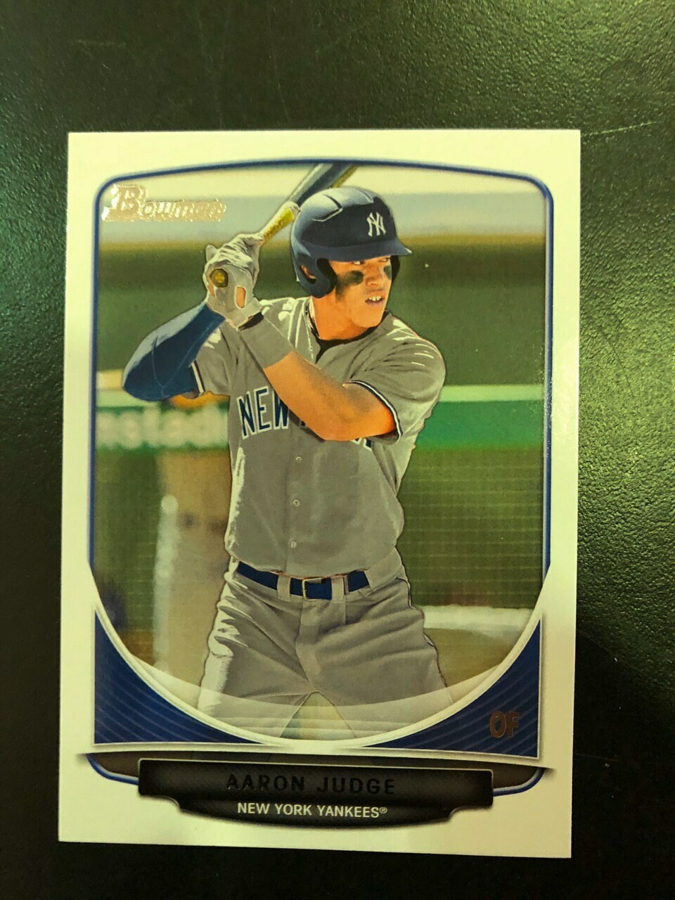 2013 Bowman Aaron Judge rookie, $40