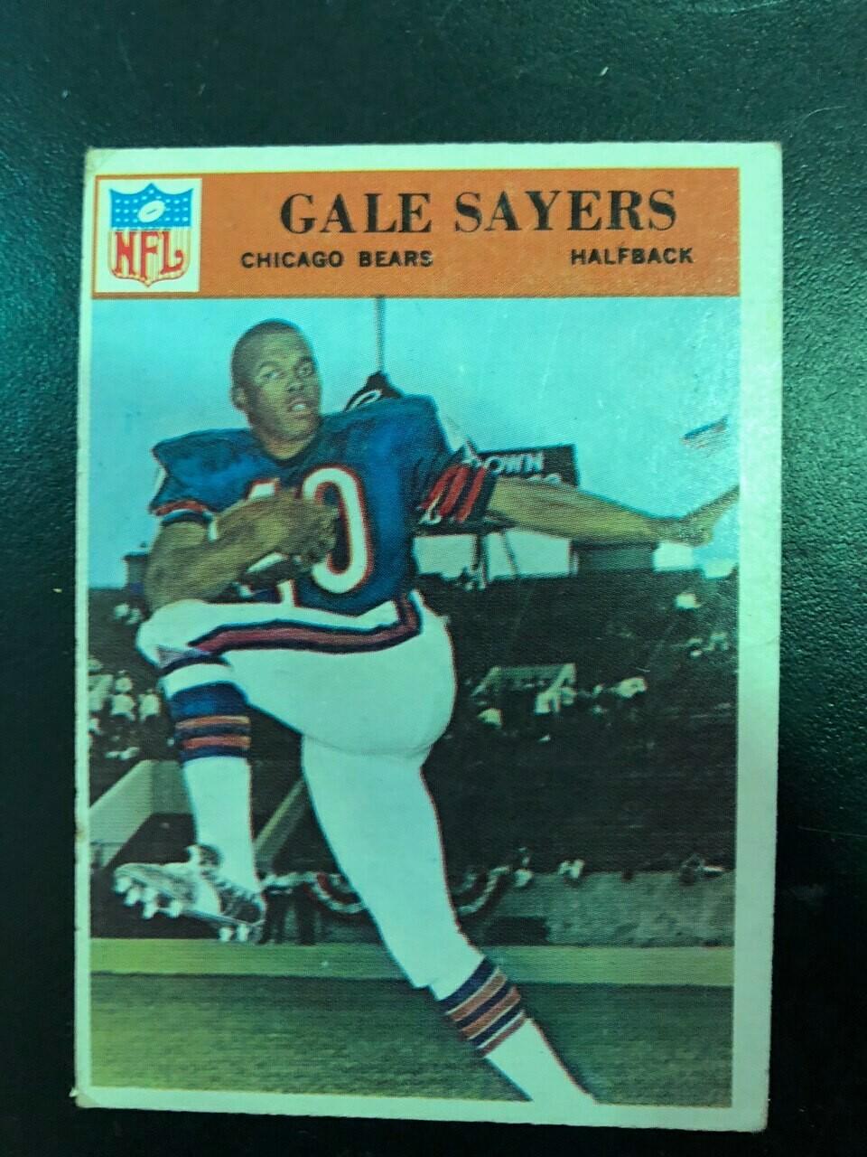 1966 Philadelphia #38 Gale Sayers rookie, $95