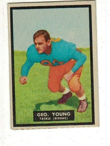 1951 Topps Magic #48 George Young rookie