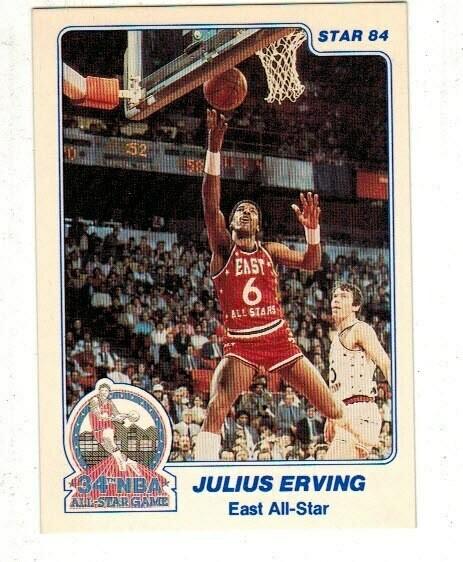1984/85 Star #4 Julius Erving All Star