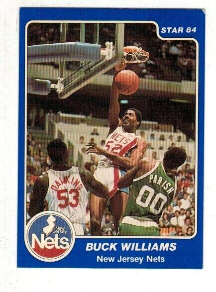 1984/85 Star #145 Buck Williams rookie