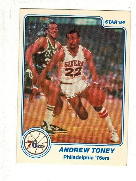 1984/85 Star #11 Andrew Toney rookie