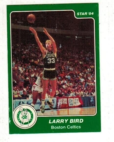 1984/85 Star #26 Larry Bird list $250