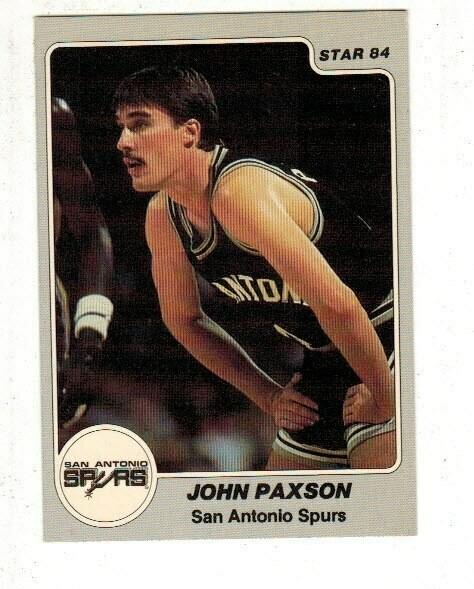 1984/85 Star #250 John Paxson rookie