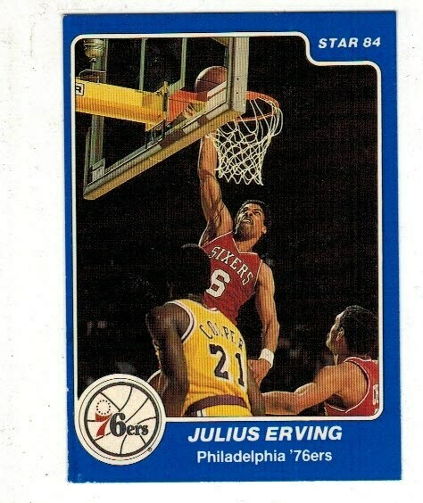 1984/85 Star #1 Julius Erving Arena