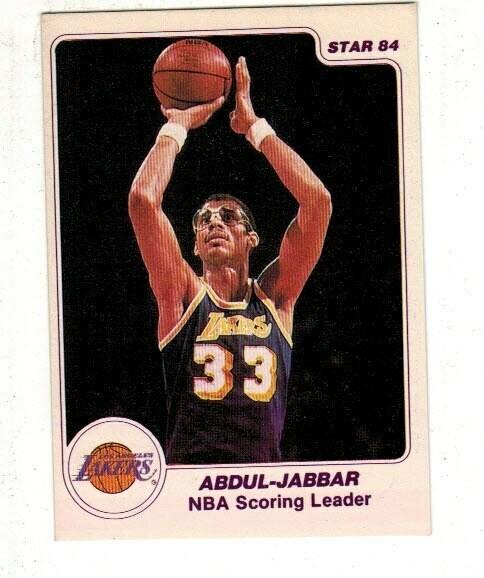 1984/85 Star #10 Kareem Abdul Jabbar Arena
