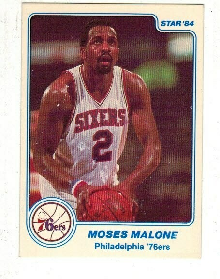 1984/85 Star #7 Moses Malone