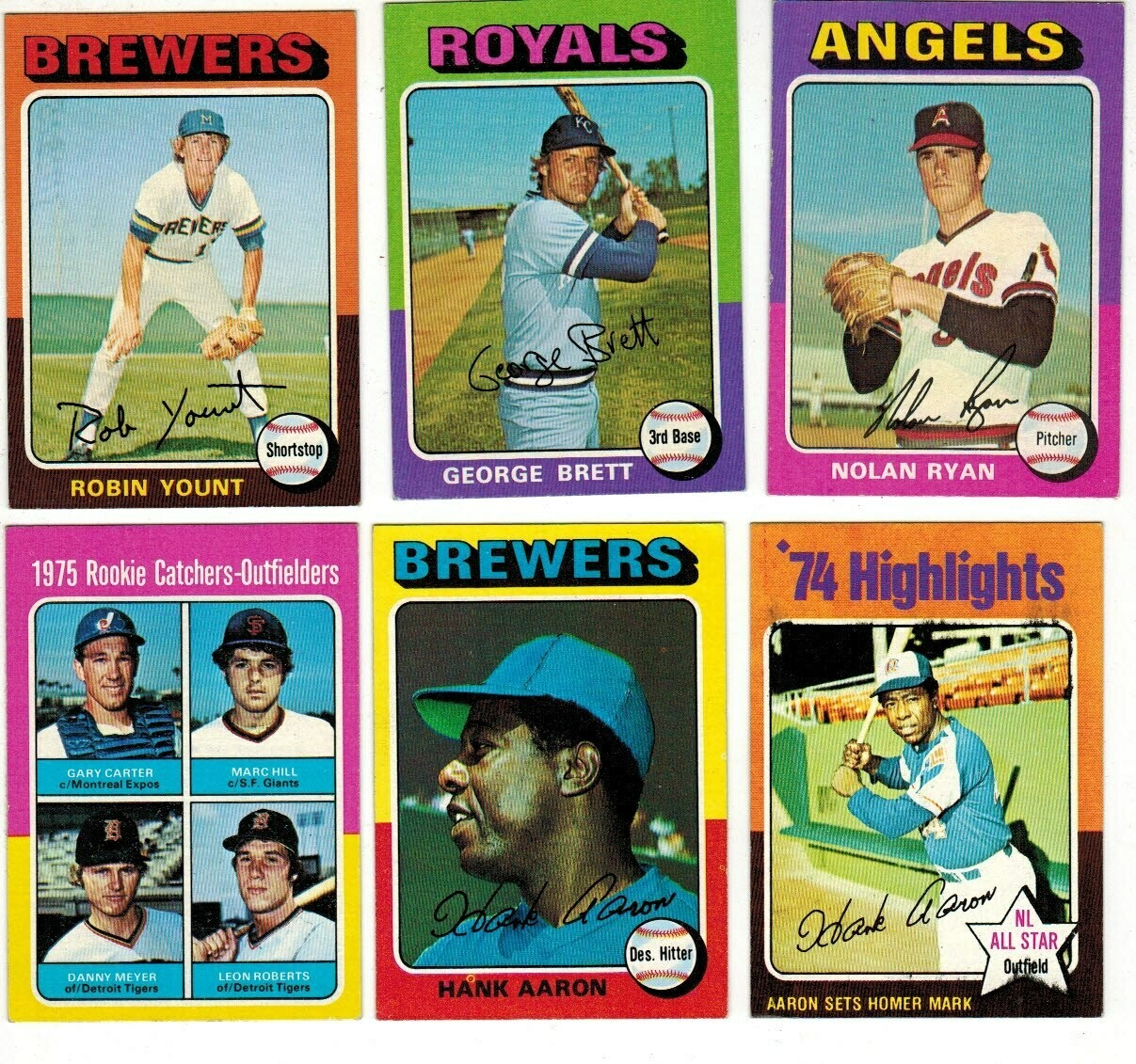 1975 Topps Baseball complete set Ex+ to Ex/Mint