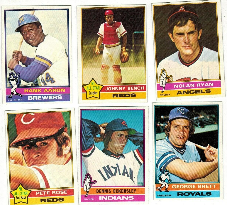 1976 Topps Complete Baseball set Ex/Mint