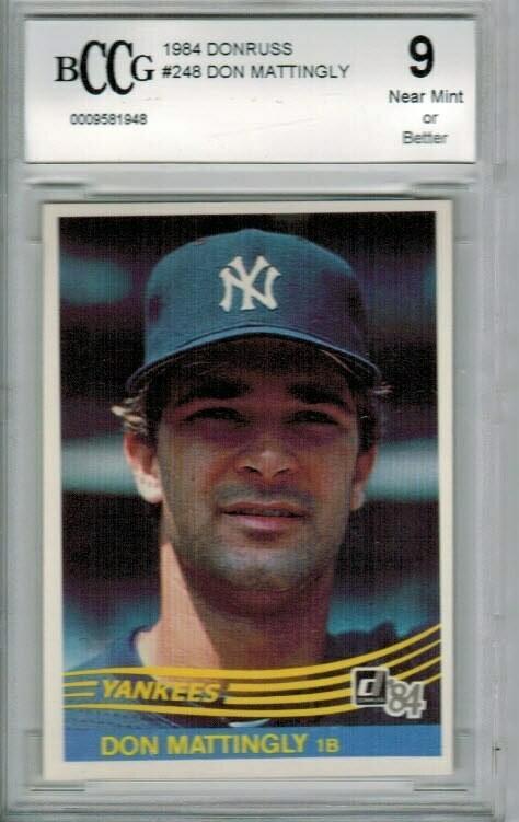1984 Donruss Don Mattingly rookie