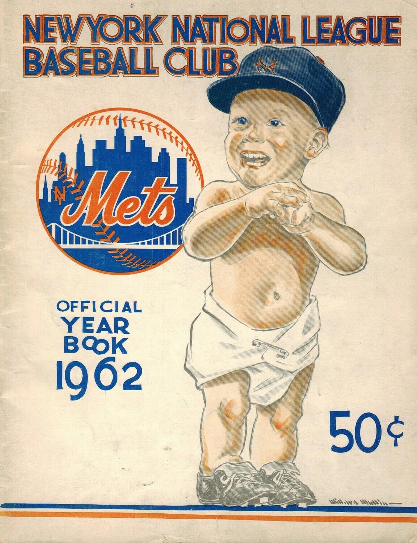 1962 NY Mets Yearbook Inaugural Season