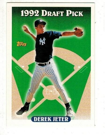 1993 Topps Derek Jeter rookie card