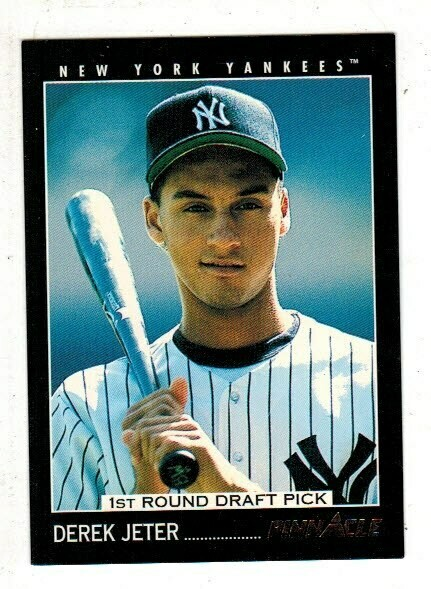 1993 Pinnacle Derek Jeter rookie card