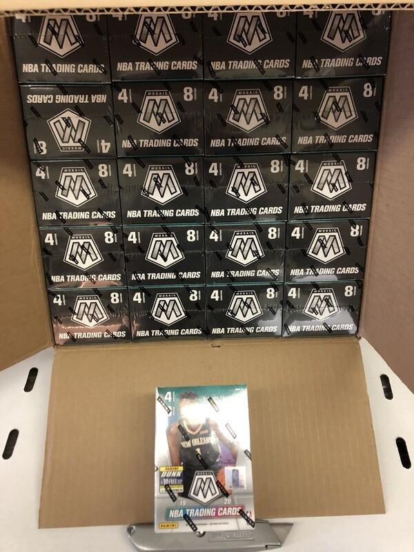 New Boxes- '19/20 Mosaic Blasters BBK, '20 Finest, Prizm Baseball
