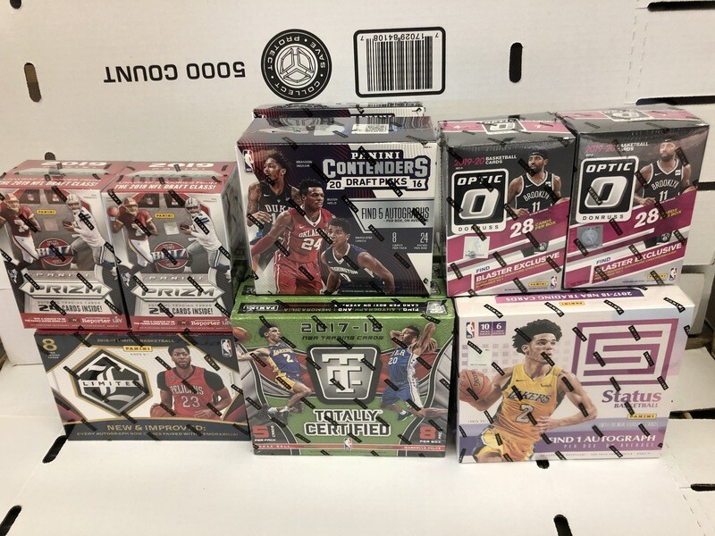 New Pack Box Inventory at America's Pastime