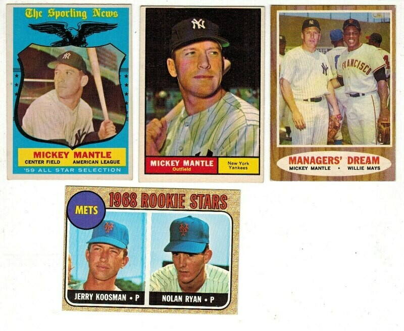 1959 Topps #564 Mickey Mantle All Star