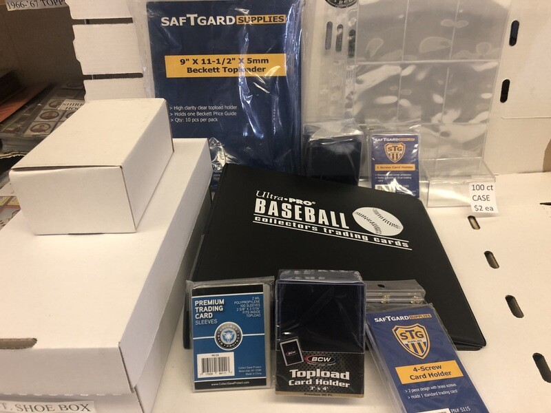 Sports Card Hobby Supplies For Sale @ America's Pastime