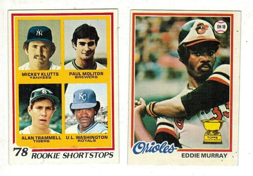 1978 Topps Baseball Complete Set Ex/Mint